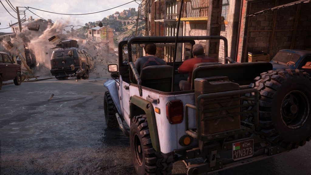 uncharted 4 truck