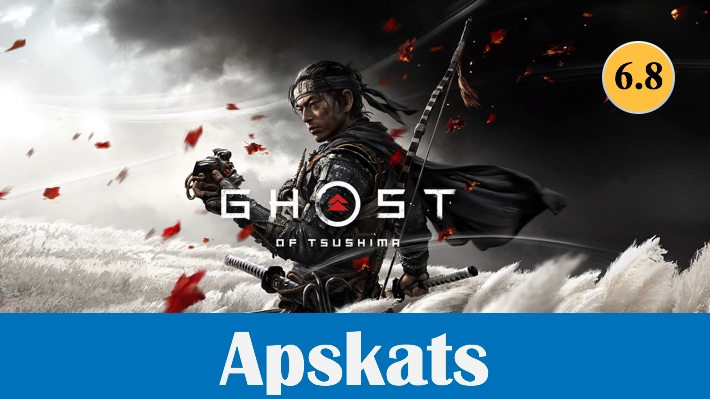 Spēļu apskats Ghost of Tsushima