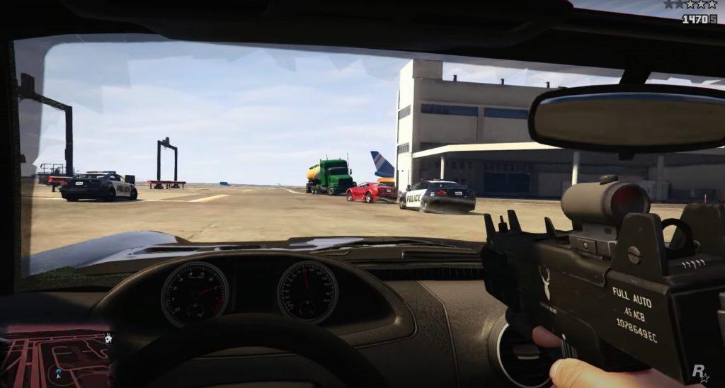 Grand Theft Auto V videospēle