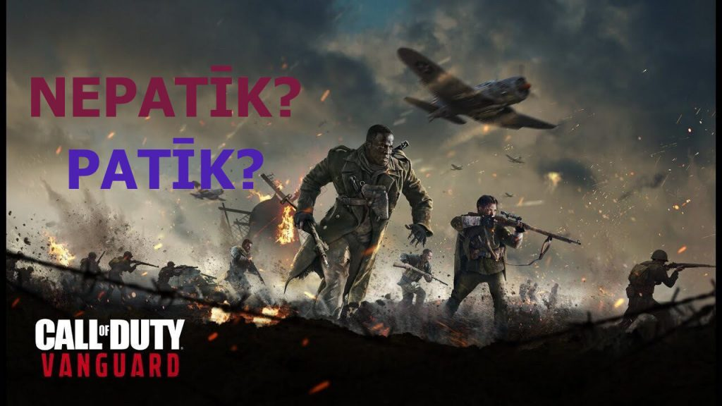Call of Duty Vanguard Latvija
