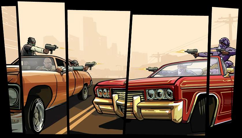 Grand Theft Auto triloģija